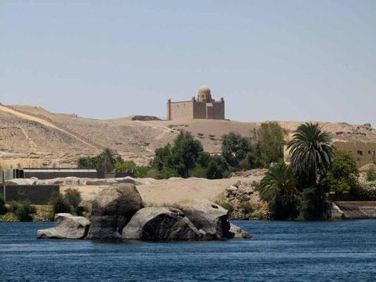 Das Mausoleum von Aga Khan
