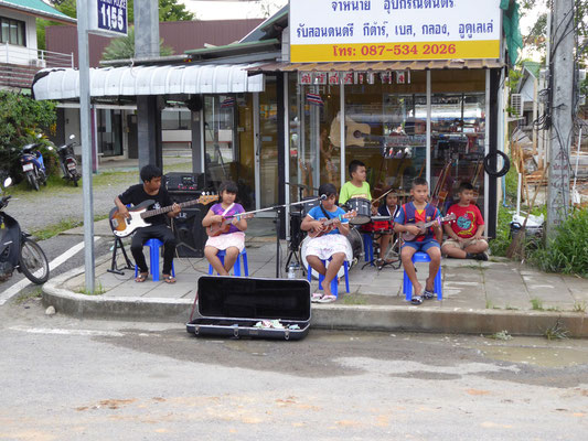Kinder, die musikalisch gefördert werden