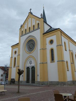 Kirche in Oberstaufen
