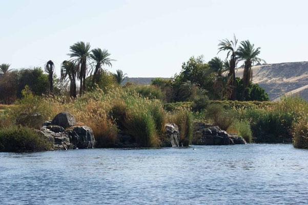 Cataract Landschaft am Nil