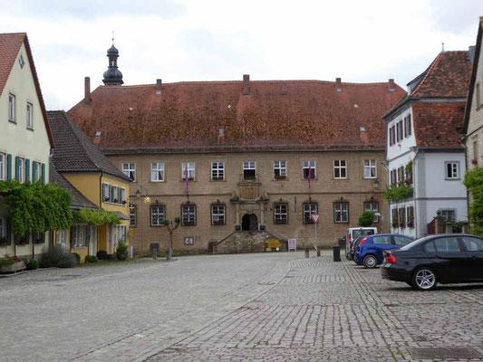 Das Schloß in Zeilitzheim