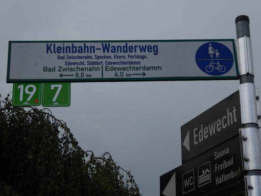 Spazier- und Radweg