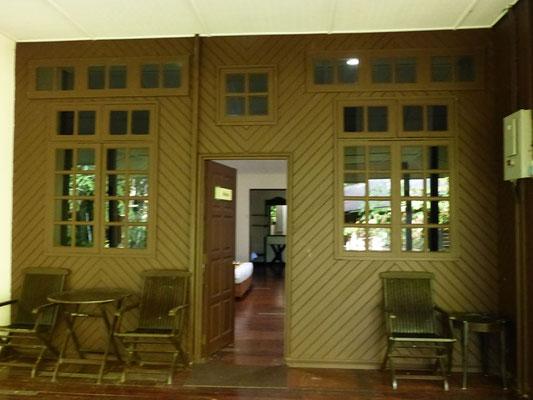 Eingang zu unserem Zimmer
