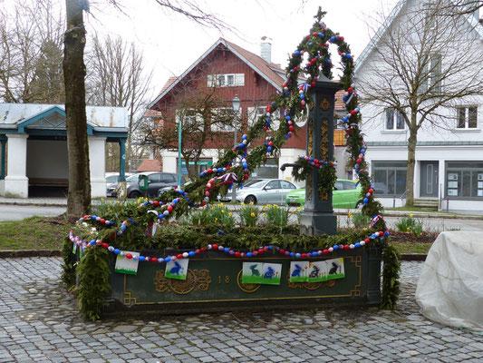Die Osterbrunnen in Bayern begeistern uns total