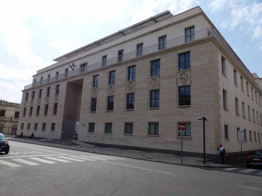 Das Archäologische Museum - leider geschlossen