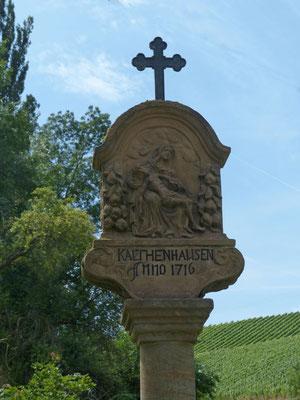 Ab Kaltenhausen geht es aufwärts