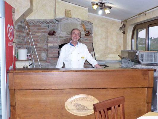 Franco, der Pizzabäcker
