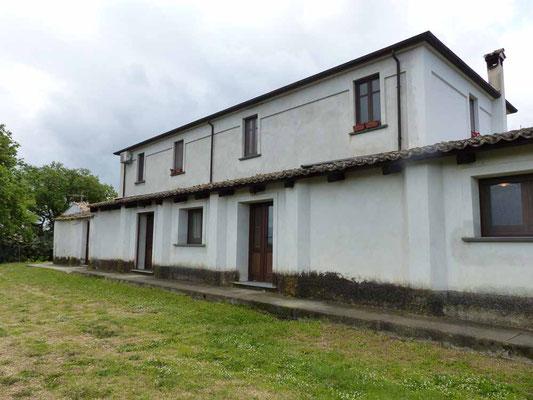 Die Rückseite des Hauses