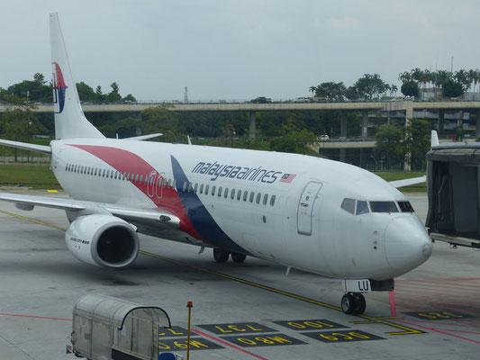Wir haben keine Wahl - wir müssen Malaysia Airlines fliegen