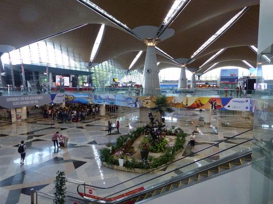 Domestic Terminal in Kuala Lumpur