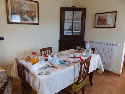 Das Frühstückszimmer