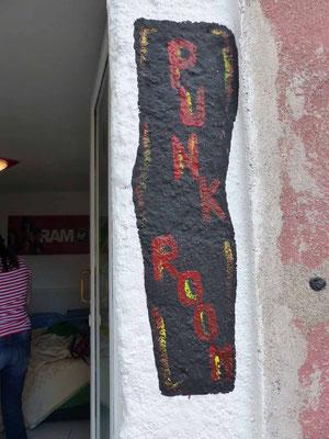 Schild an der Zimmertür