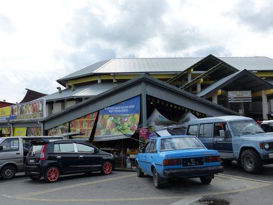 Das Marktgebäude in Serian
