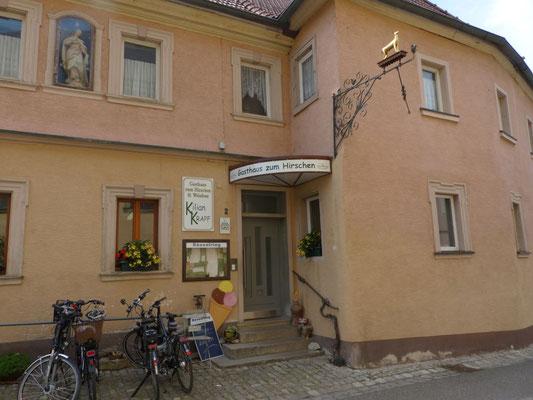 Gasthaus in Fahr