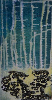 """aus der Serie """"Kleines Chaos"""" 16 x 30 cm auf Pappe, auf Wunsch im Objektrahmen"""