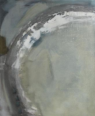 Circle N° 4 (90 x 110 x 3cm) Mischtechnik