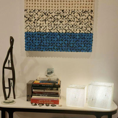 Particulier New-York - Paires de lampes de table - 25 x 25 x 25 cm et 30 x 30 x 30 cm