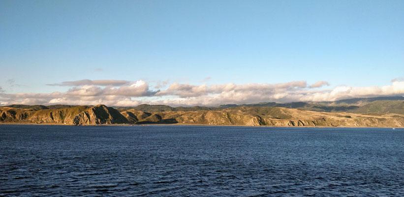 Première vue de l'île du Nord