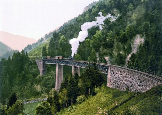 Het eerste viaduct