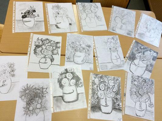 Zeichnen wie Vincent van Gogh