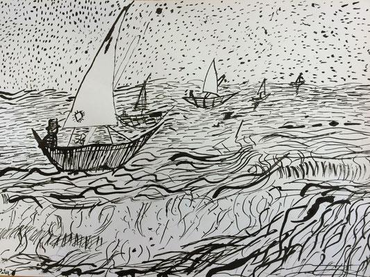 Zeichnen wie Vincent van Gogh (Emsada Mujic)