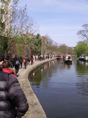 Regent's Canal mit Hausbooten