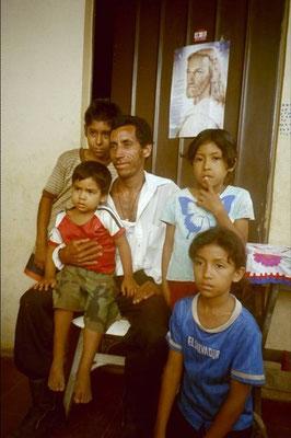 Jose Manuel und seine Familie 2005