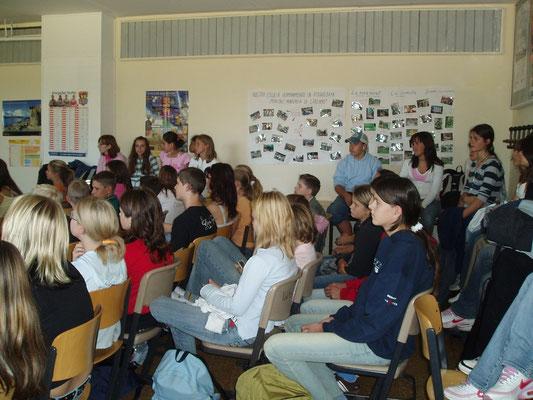 Besuch von Yohalmo Cabrera an der Vincent-van-Gogh-Schule 2006