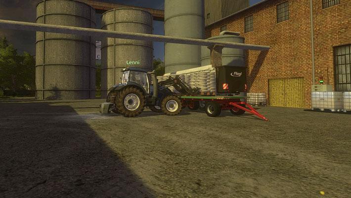 Wer seinem traktor zuviel Zucker gibt...
