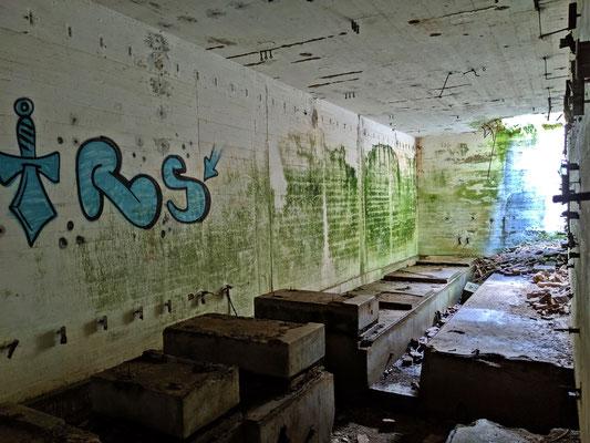Aufbereitungsanlage, Keller beim Eindickerbecken
