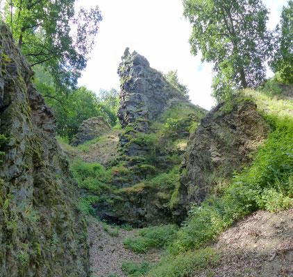 Steinbruchbereich