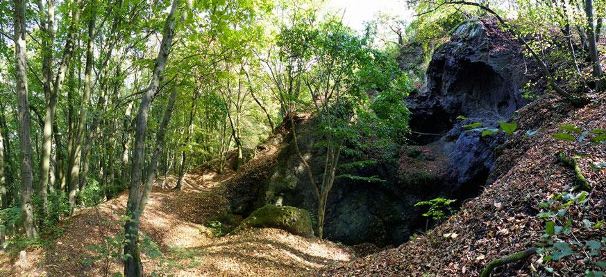 Gipfelbereich des Dědek