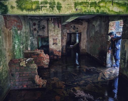gefluteter Keller (vermutlich der Waschkaue)