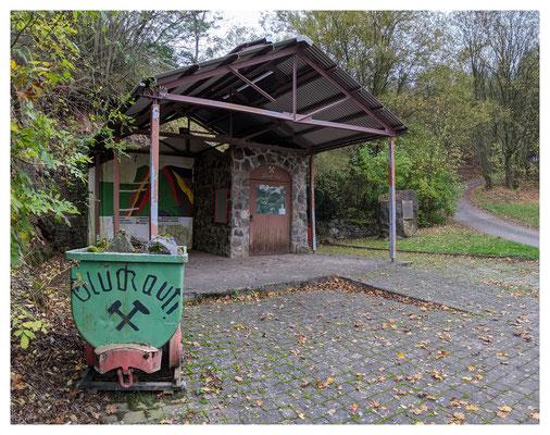 Mundlochbereich des Carl-Ludwig-Stollens, heute Zugang zum Besucherbergwerk