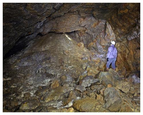Masse-Einbruch (unbekannter Herkunft) in den Abbaubereich