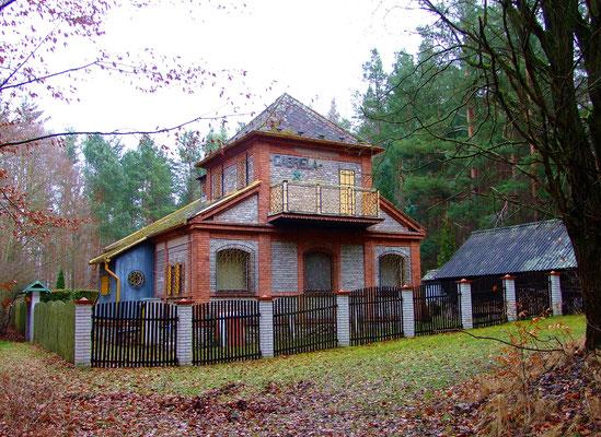 Huthaus des 1927 aufgefahrenen Gabriela-Lagers.