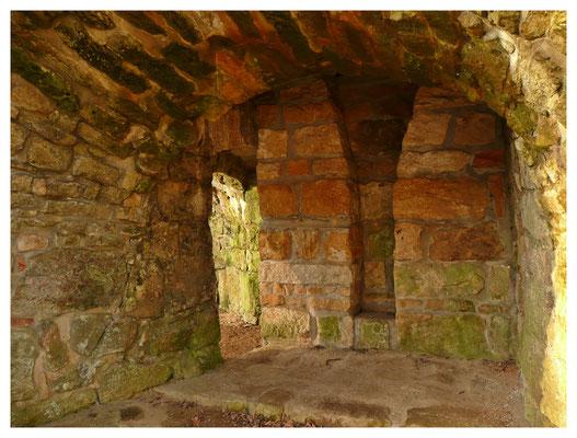 Detail des Abstichgewölbes