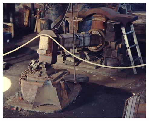 der historische Schwanzhammer
