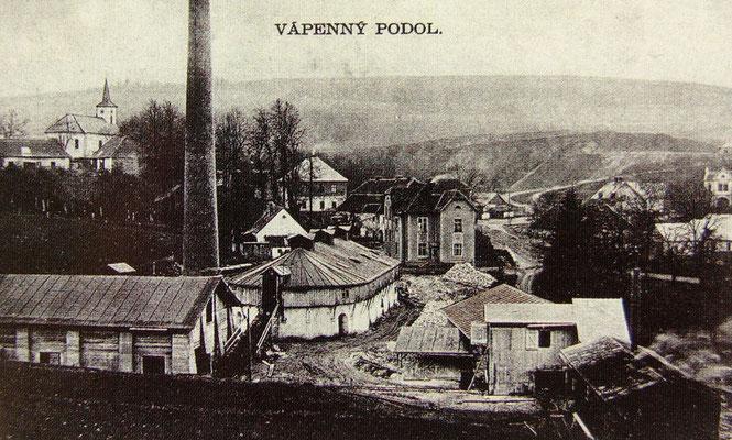 Der 1913 errichtete Ringofen.