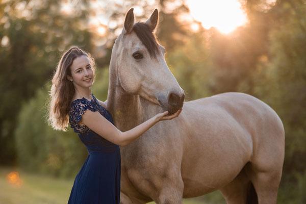 Markenbotschäfterin Kramer Pferdesport Saskia