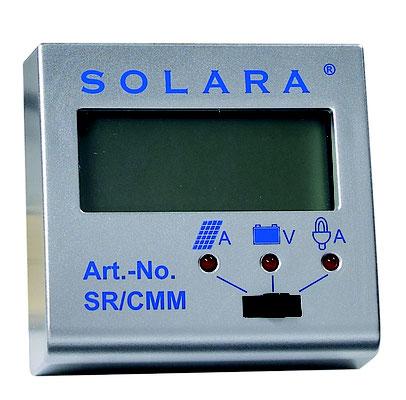 SOLARA Fernanzeige SR/CMM - Die Kontrollstation für Ihre Solaranlage