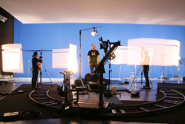 Making-of: Studio, Bluescreen, Commercial