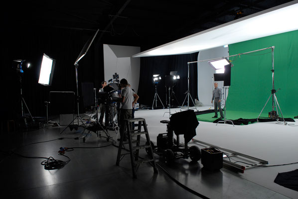 Making-of: Studio, Greenscreen