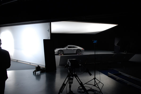 Making-of: Studio, Automotiv
