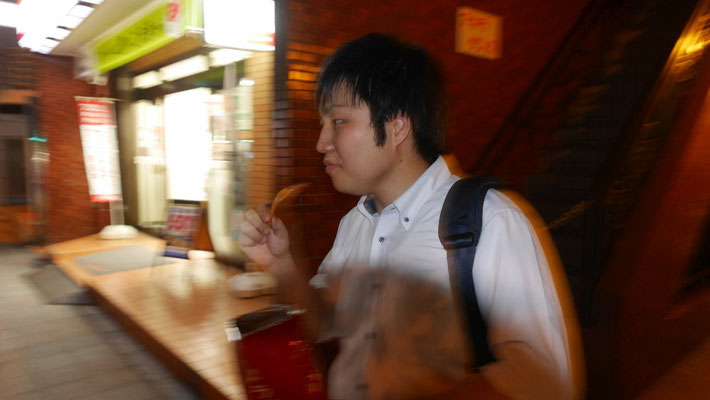 その太田を冷ややかな目で見つめる遠藤(笑