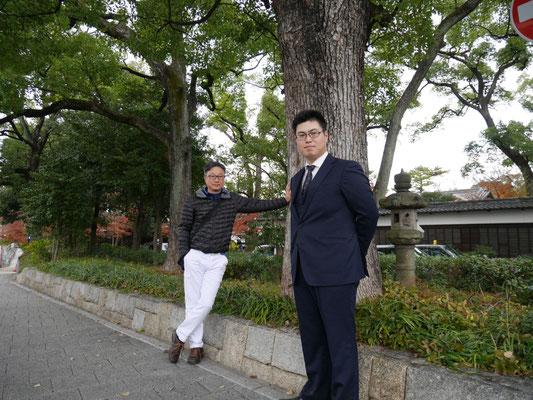 徳川園前にあるこの大木は、名古屋屈指のパワースポットなんだとか。