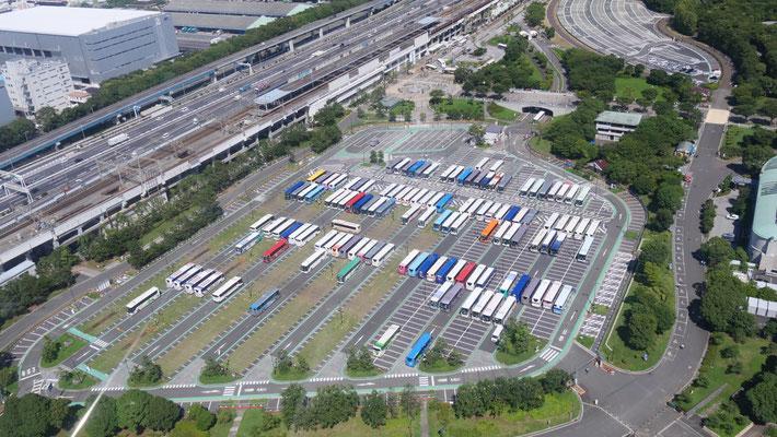 ちなみに、葛西臨海公園の駐車場は、オリンピックに供用される観光バスの待機場になっています。