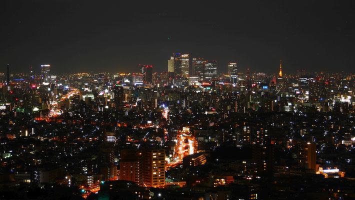 名古屋駅方面の様子。