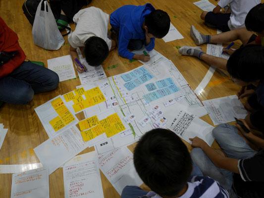 平山小学校の子どもたちは、次々に課題に挑んでいきます。