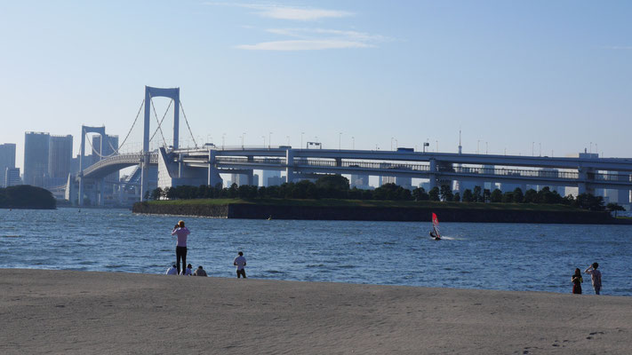 国内外から多くの観光客を受け入れるお台場の象徴、レインボーブリッジ。世界的にも、もっとも有名な日本の橋と言えるかも知れません。